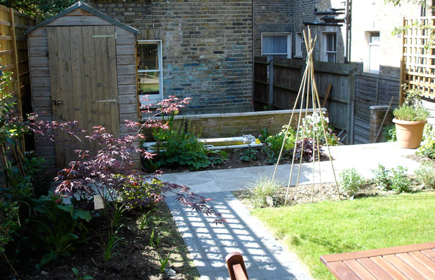 gimme some space: an urban kitchen garden