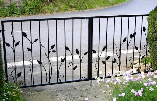 bespoke garden metalwork creations: the finishing touch