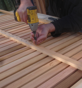 glen walker studio bespoke carpentry at carol whitehead garden design