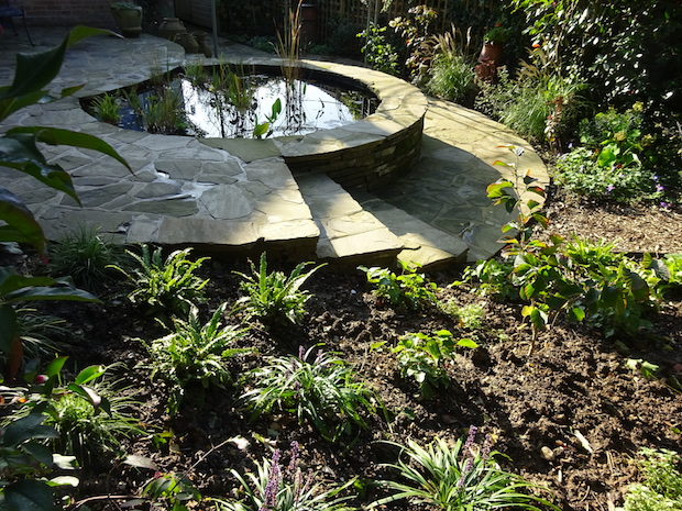a low impact garden design